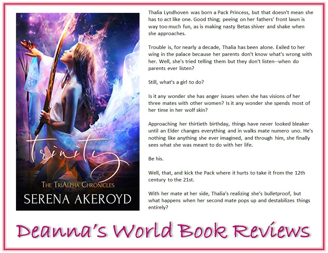 Trinity by Serena Akeroyd blurb