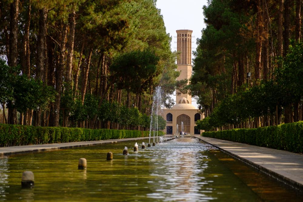 De tuin in Yazd