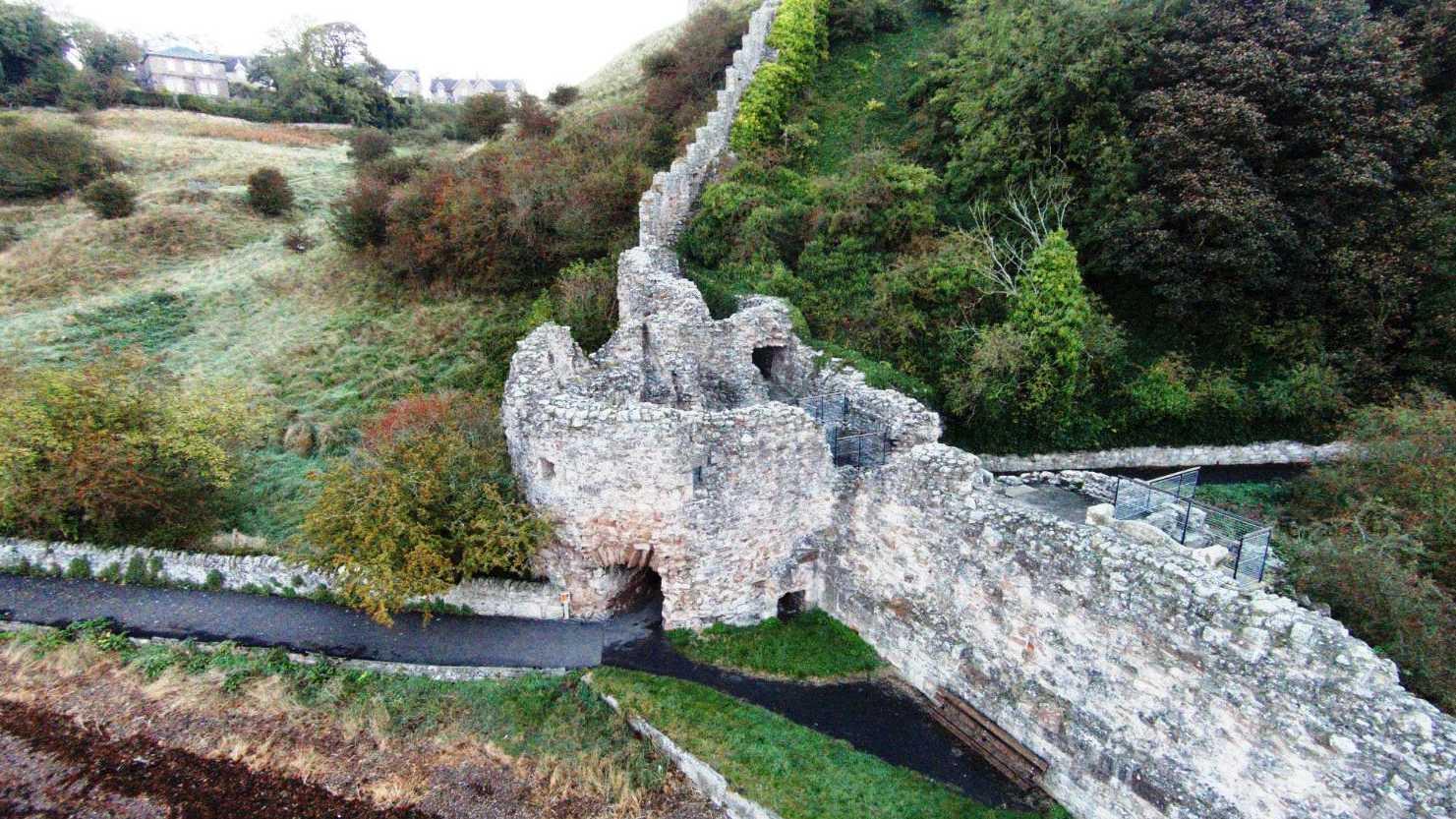Замок Бервик, водонапорная башня