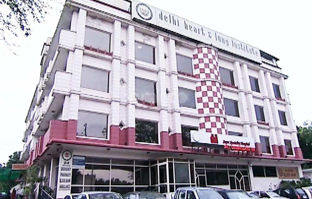 Delhi Heart and Lung Institute Image