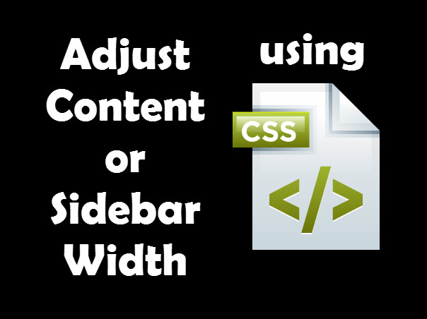 adjust content width or sidebar width using css in studiopress genesis framework nomadic child theme