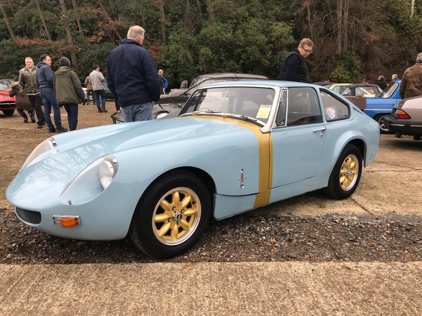 Take to the Road Market Pick 1965 MG Midget Lenham Le Mans