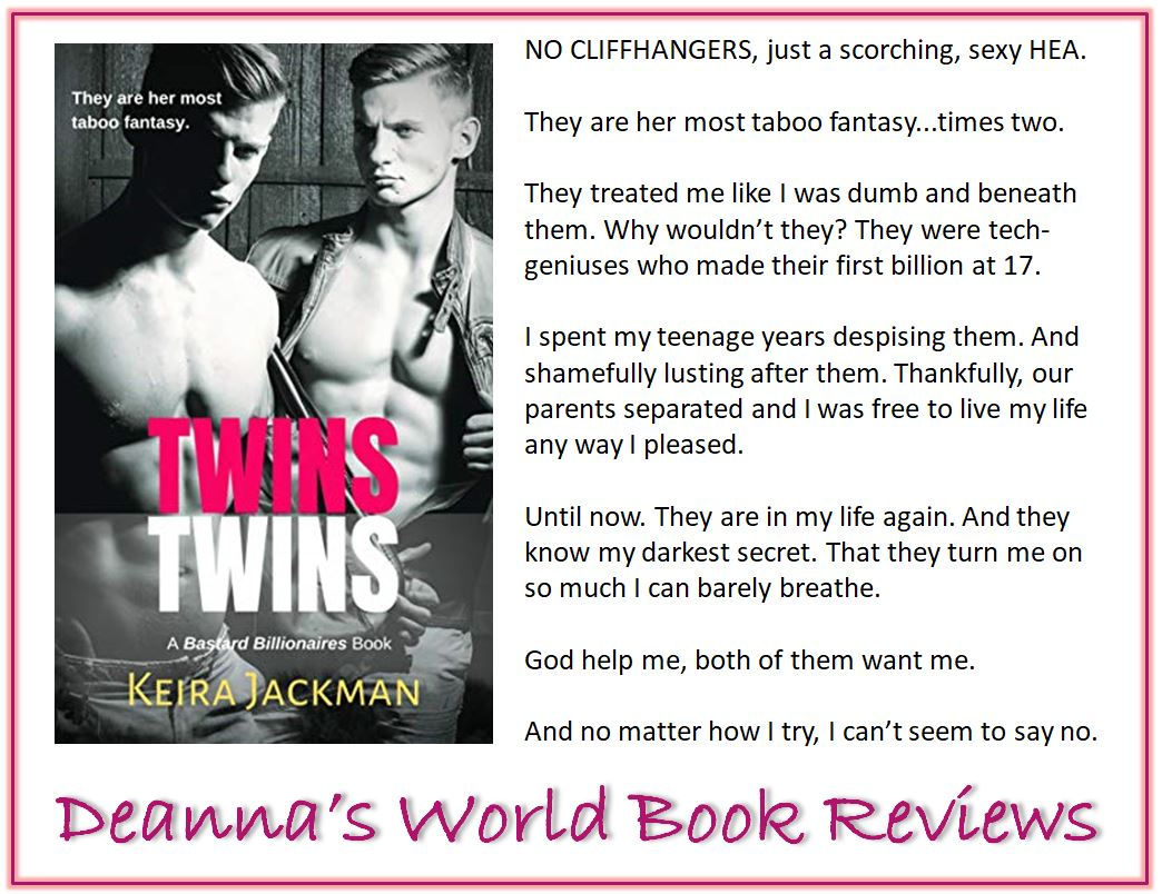 Twins by Keira Jackman blurb
