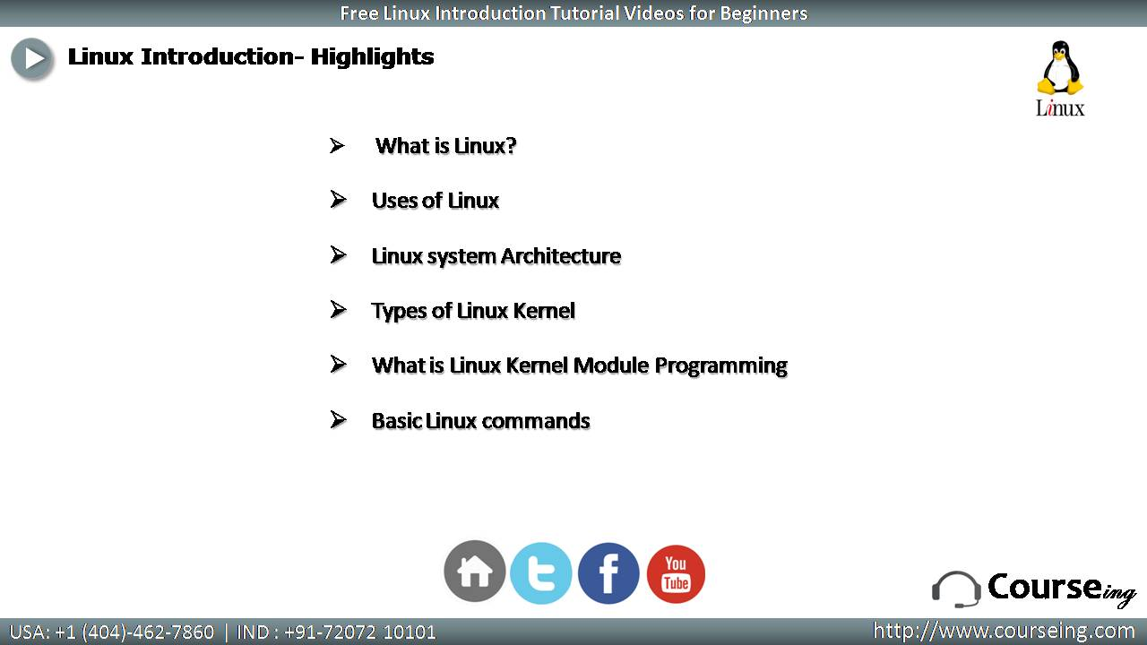 Free Linux Introduction