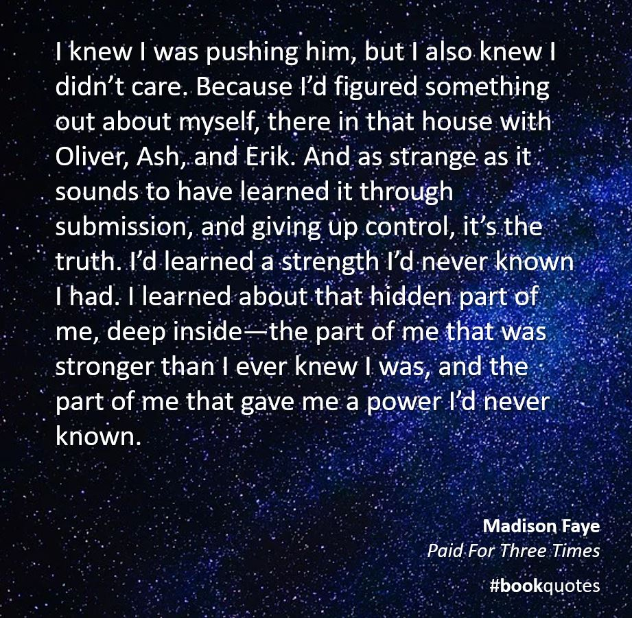 Book quote Madison Faye