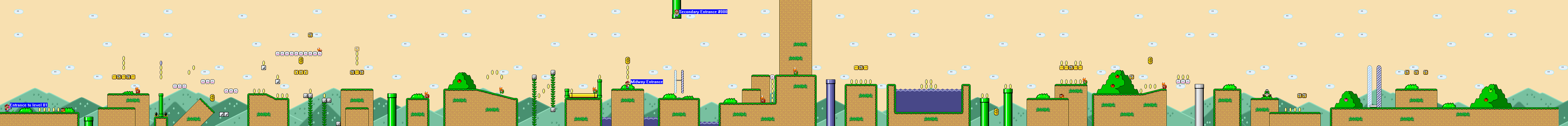 Super Mario: The ultimate adventure (WIP) Level001