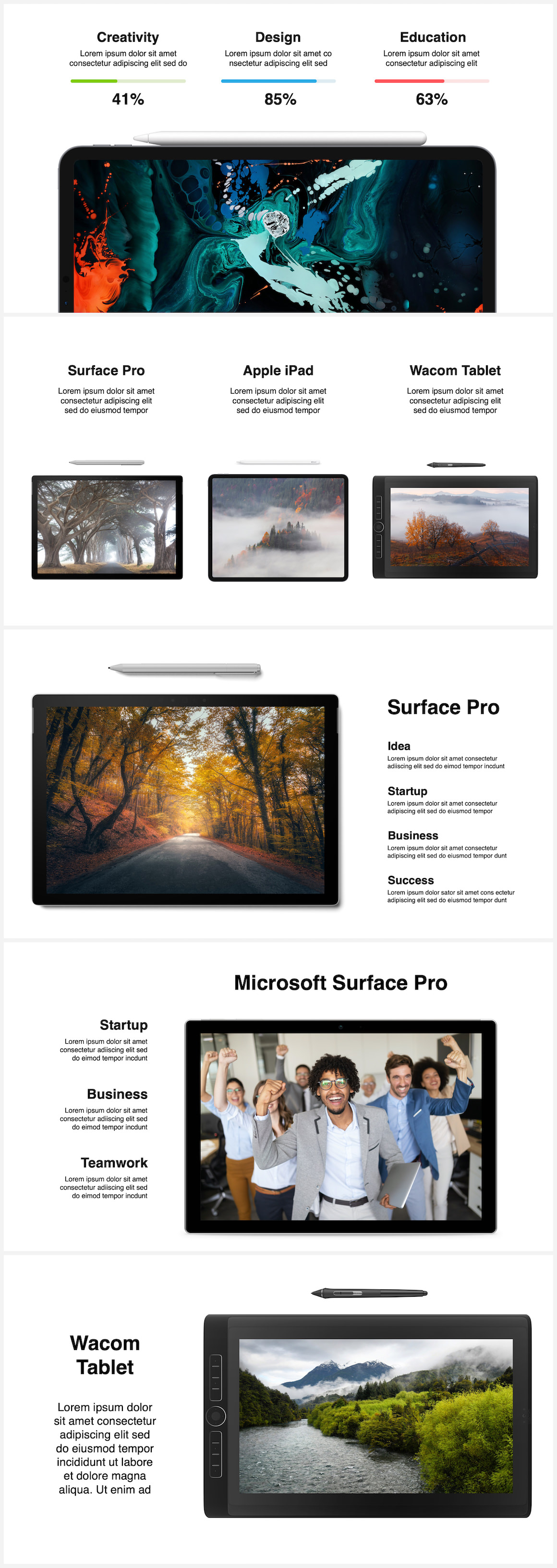 Huge Infographics Bundle! Lifetime Updates! PowerPoint, Photoshop, Illustrator. - 88