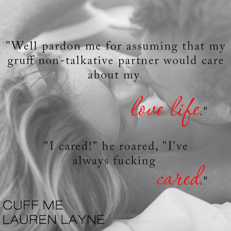 Cuff Me by Lauren Layne teaser 1