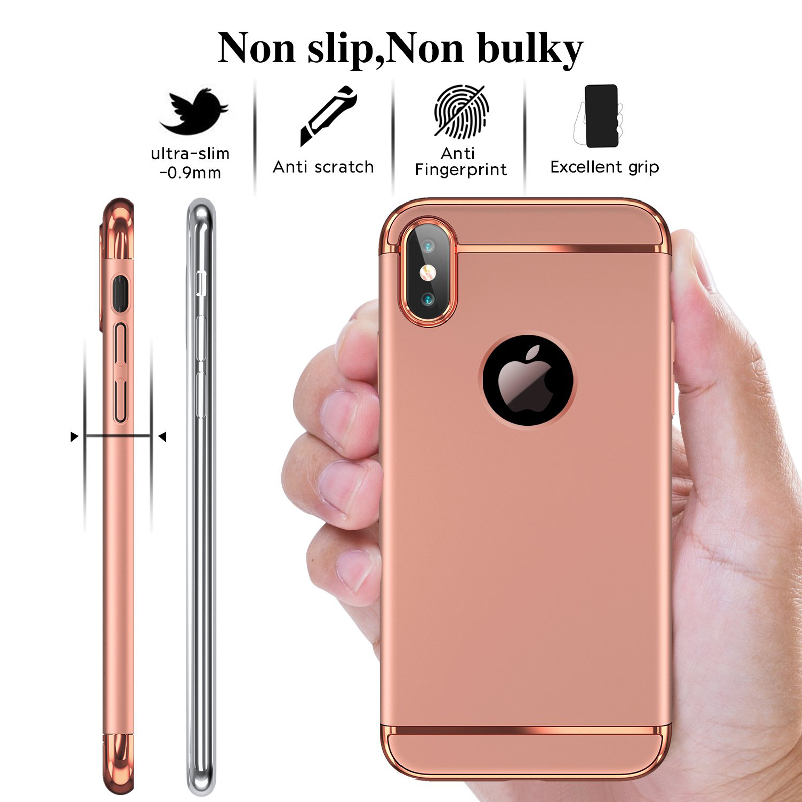 thumbnail 52 - Luxury Matte Case Tempered Glass Cover For Apple iPhone X XS XR Max 10 8 7 6s 6