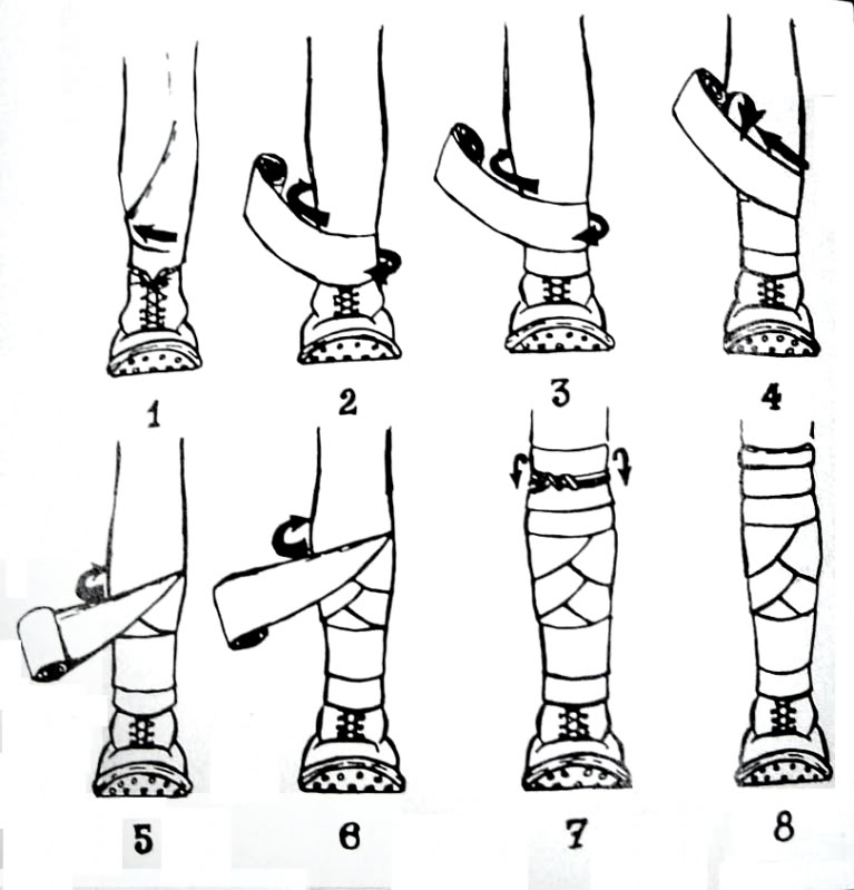 Leg wraps
