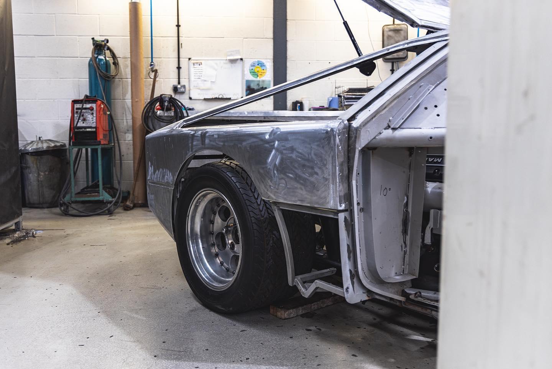 Mythical Aston Martin Bulldog halfway through its restoration
