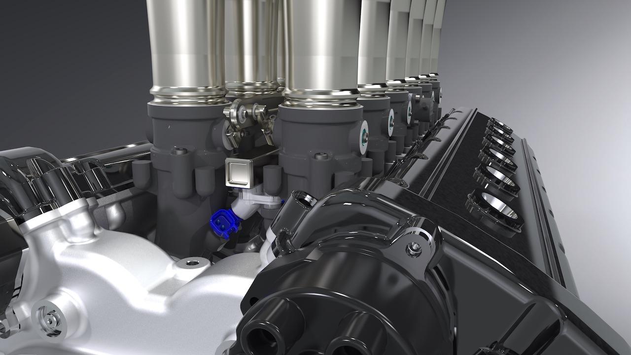 GTO Engineering reveals Squalo V12 engine details