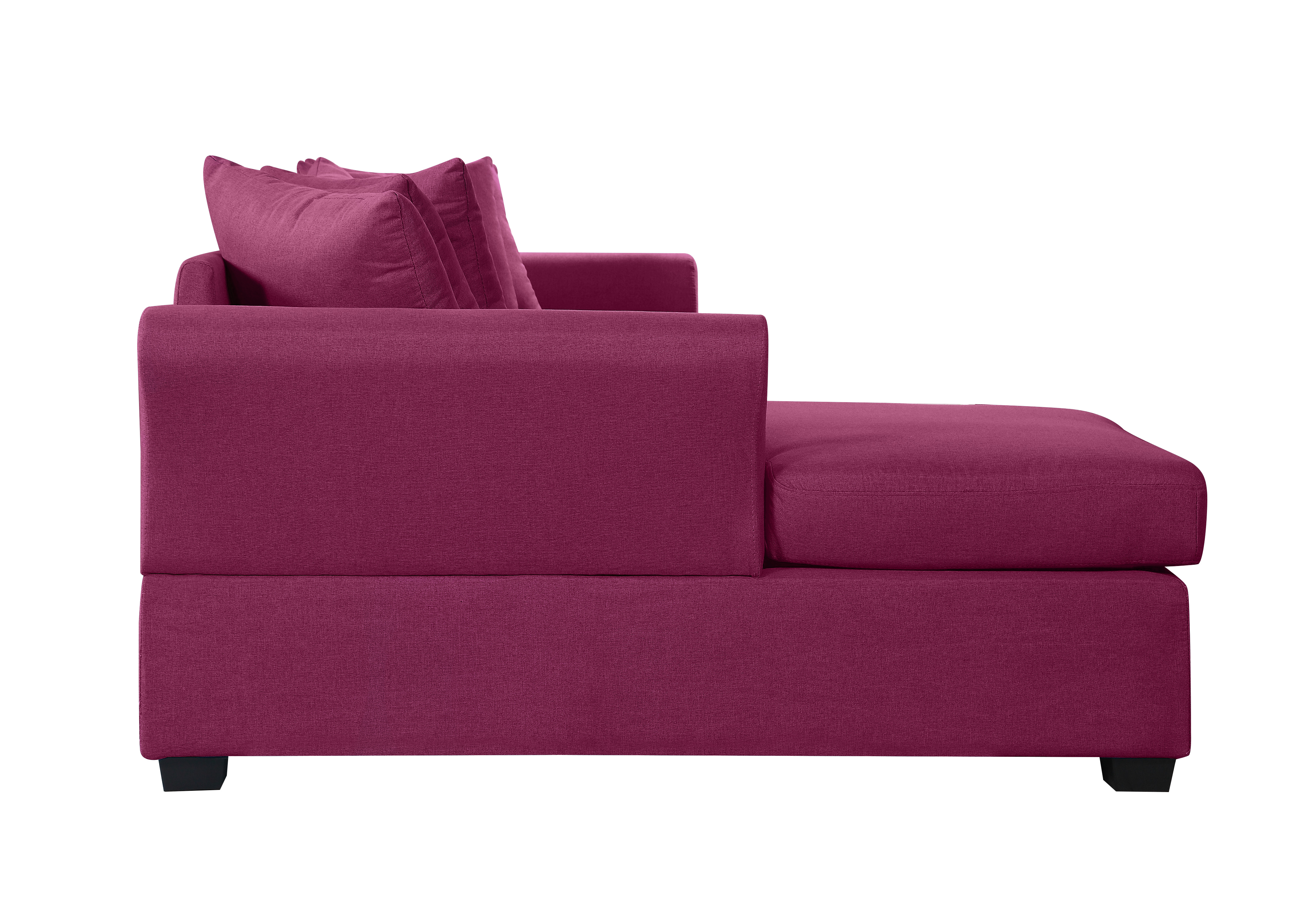 Modern Large Fabric Sectional Sofa with Extra Wide Chaise ...