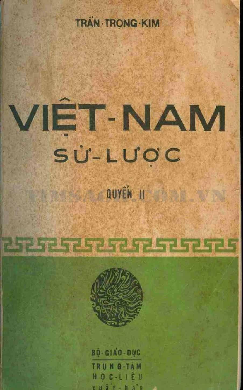 Việt Nam Sử Lược - Quyển II