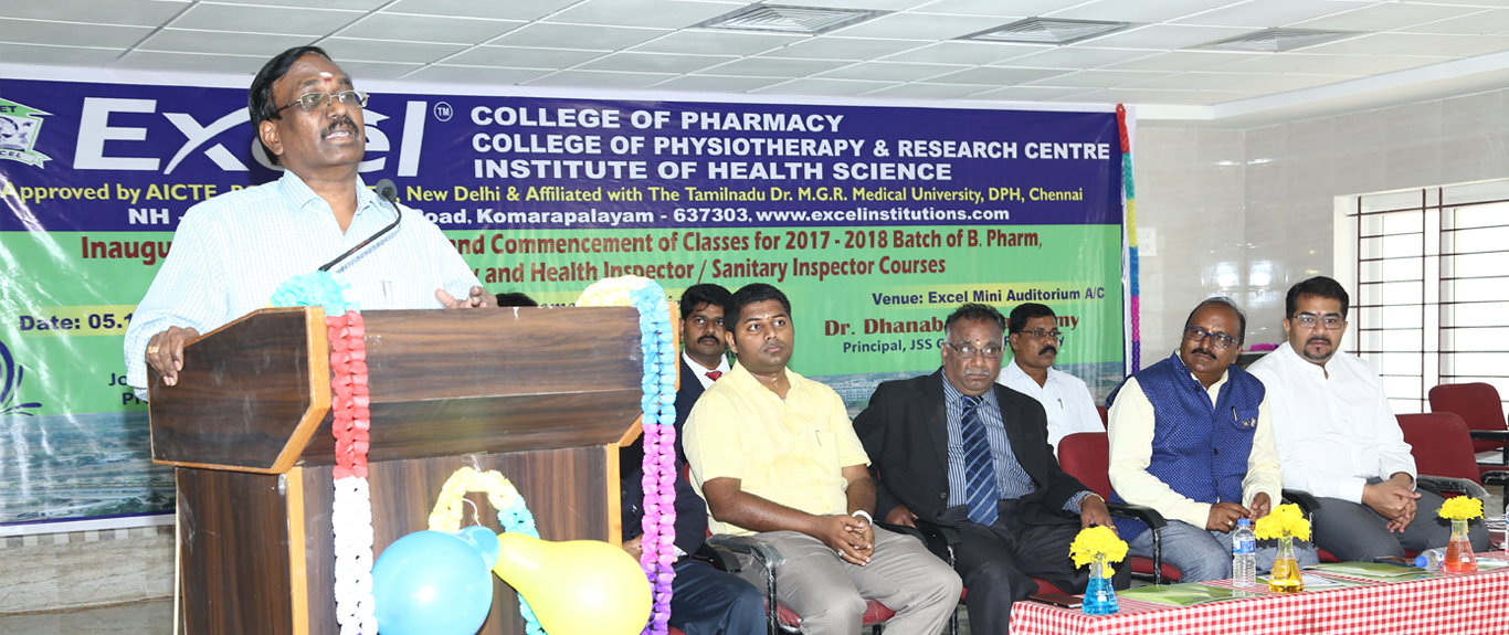 Excel Institute of Health Sciences, Namakkal