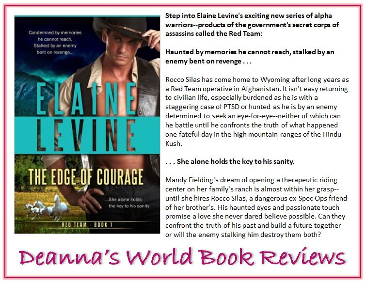 The Edge of Courage by Elaine Levine blurb