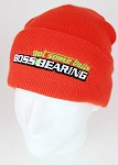 Boss Bearing Embroidered Get Some Balls Orange Knit Hat