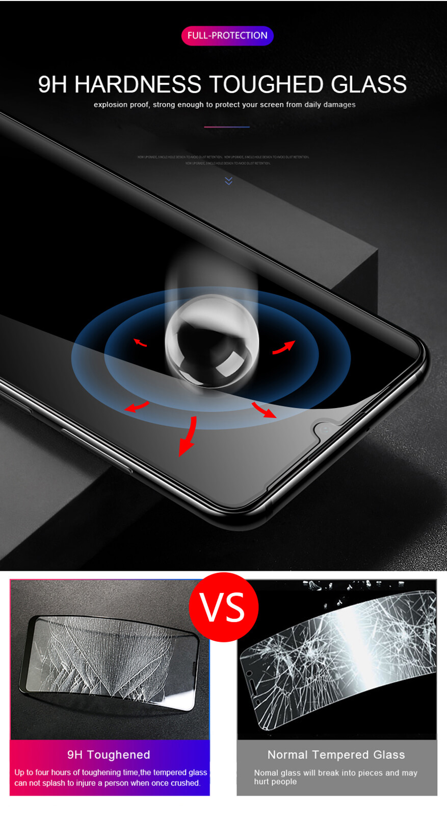 Full-Coverage-3D-Tempered-Glass-Screen-Protector-For-Huawei-P30-P20-Pro-Mate-20 Indexbild 23