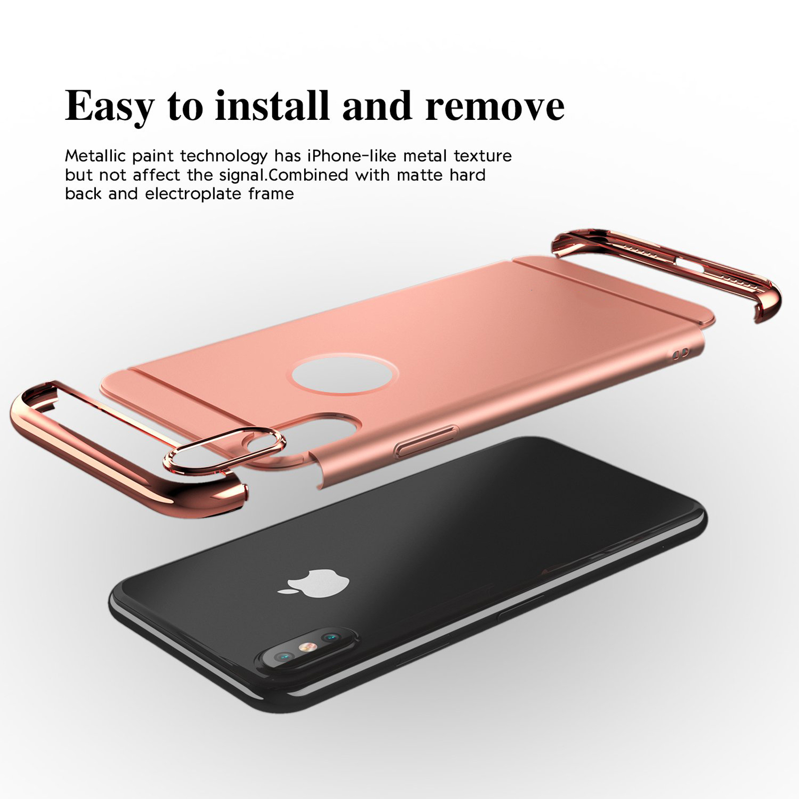 thumbnail 54 - Luxury Matte Case Tempered Glass Cover For Apple iPhone X XS XR Max 10 8 7 6s 6