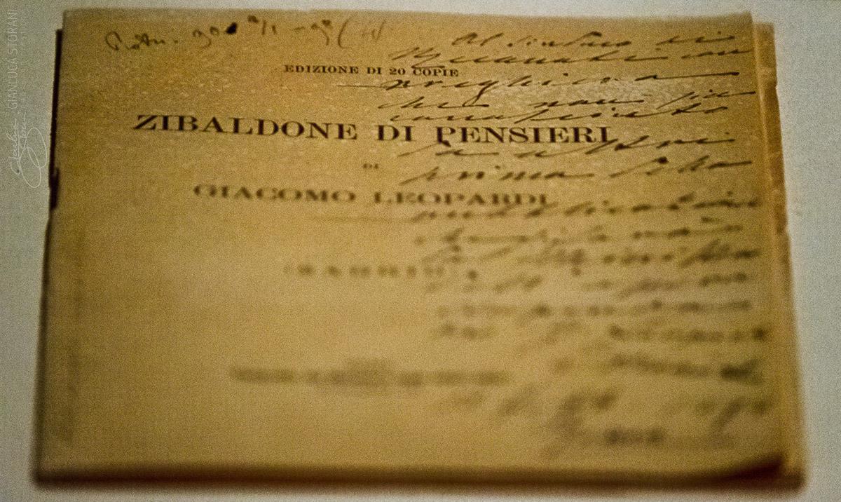 Manoscritto originale del Leopardi - Gianluca Storani Photo Art (ID: 4-7079)