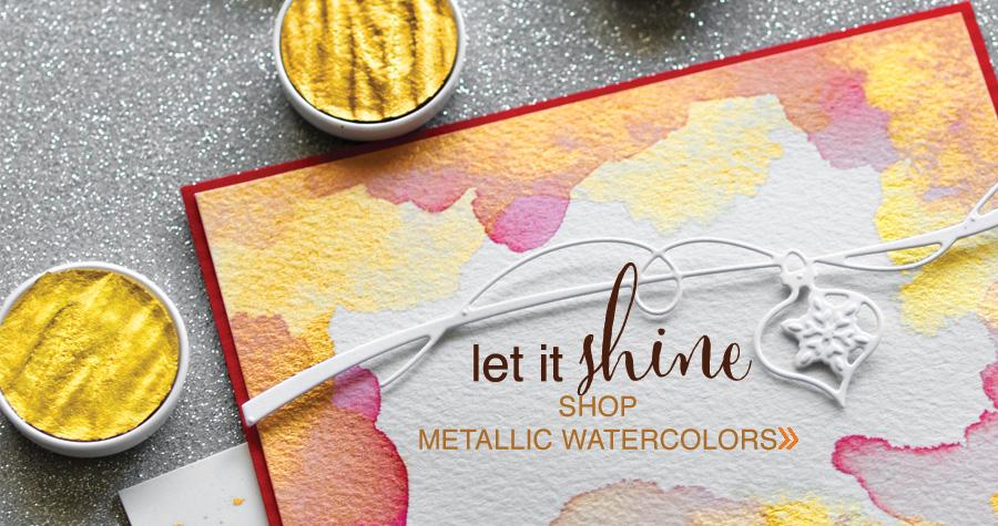 shop Metallic Watercolors