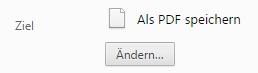 Der Google Chrome bietet im Druck-Bereich einen Converter, um Webseiten + Dokumente in PDF umzuwandeln.