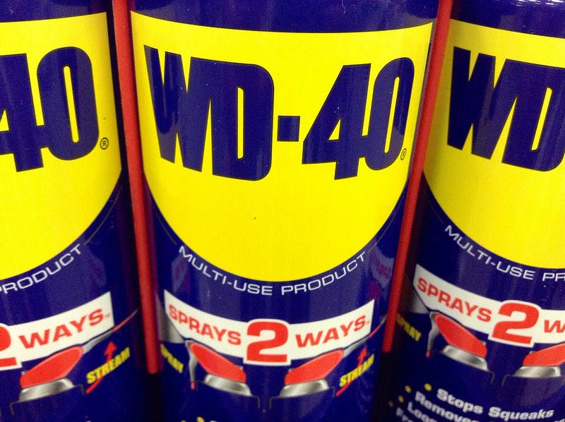 WD-40 bottles