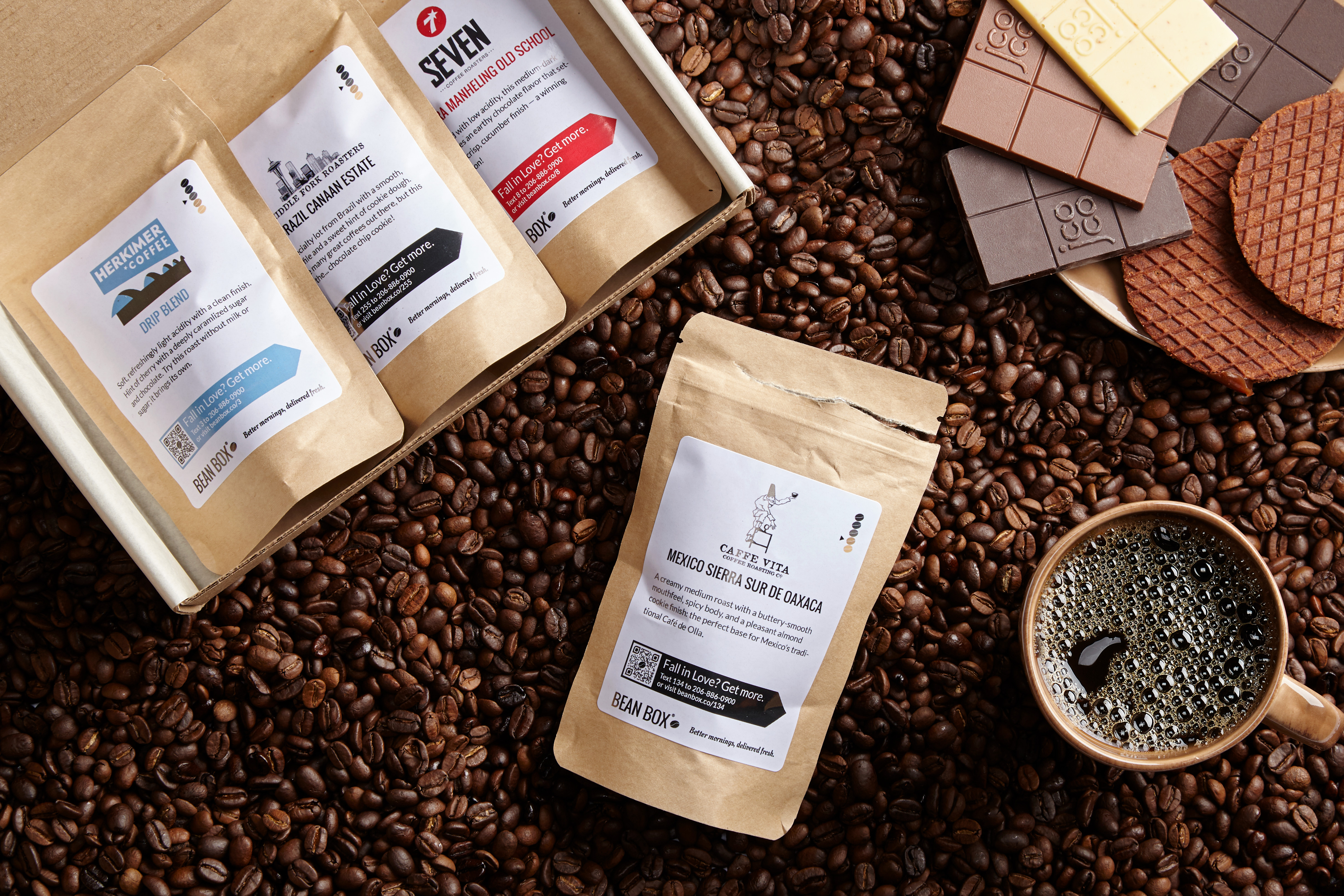 Bean Box Espresso Lovers Sampler