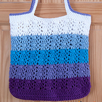 Wrapped Ombre Tote Bag thumbnail