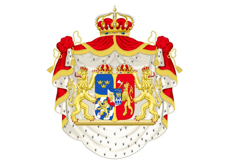 Escudo de la Unión de Suecia y Noruega