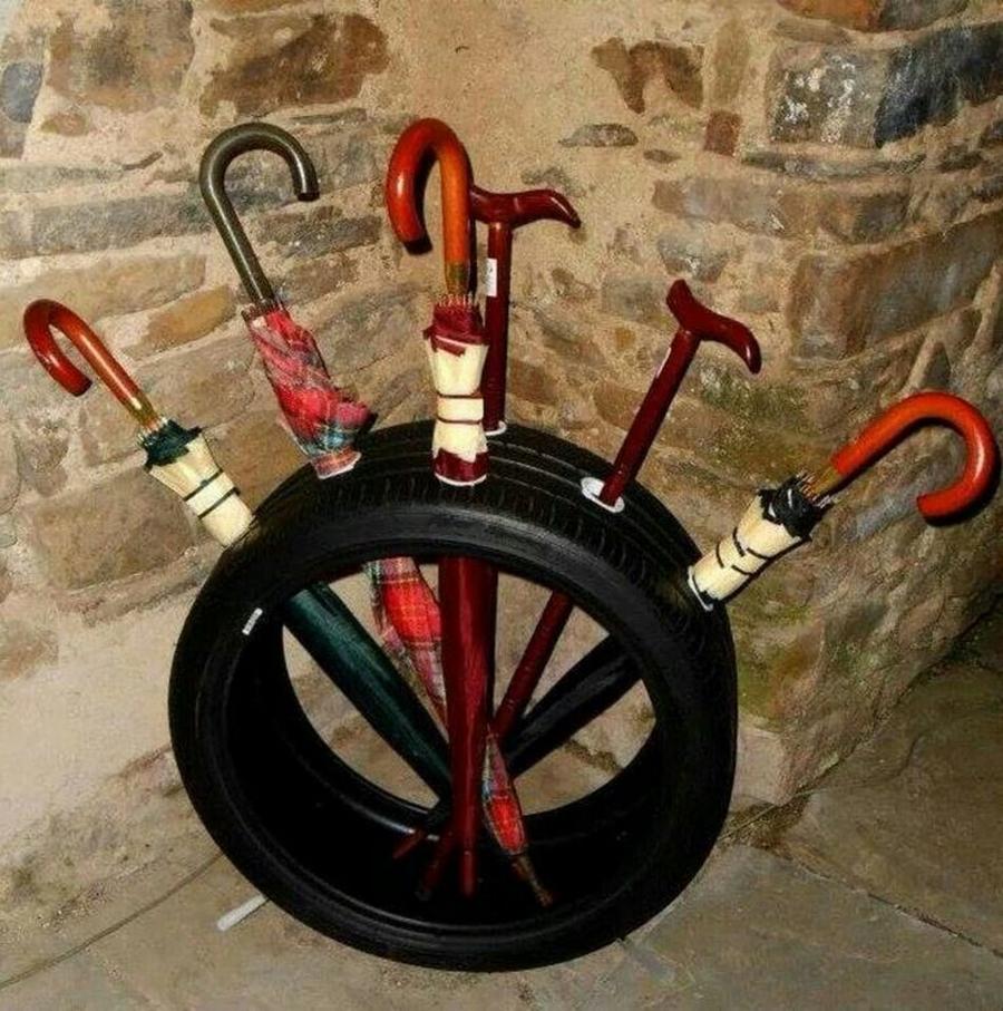 Поделки из велосипедных колес своими руками