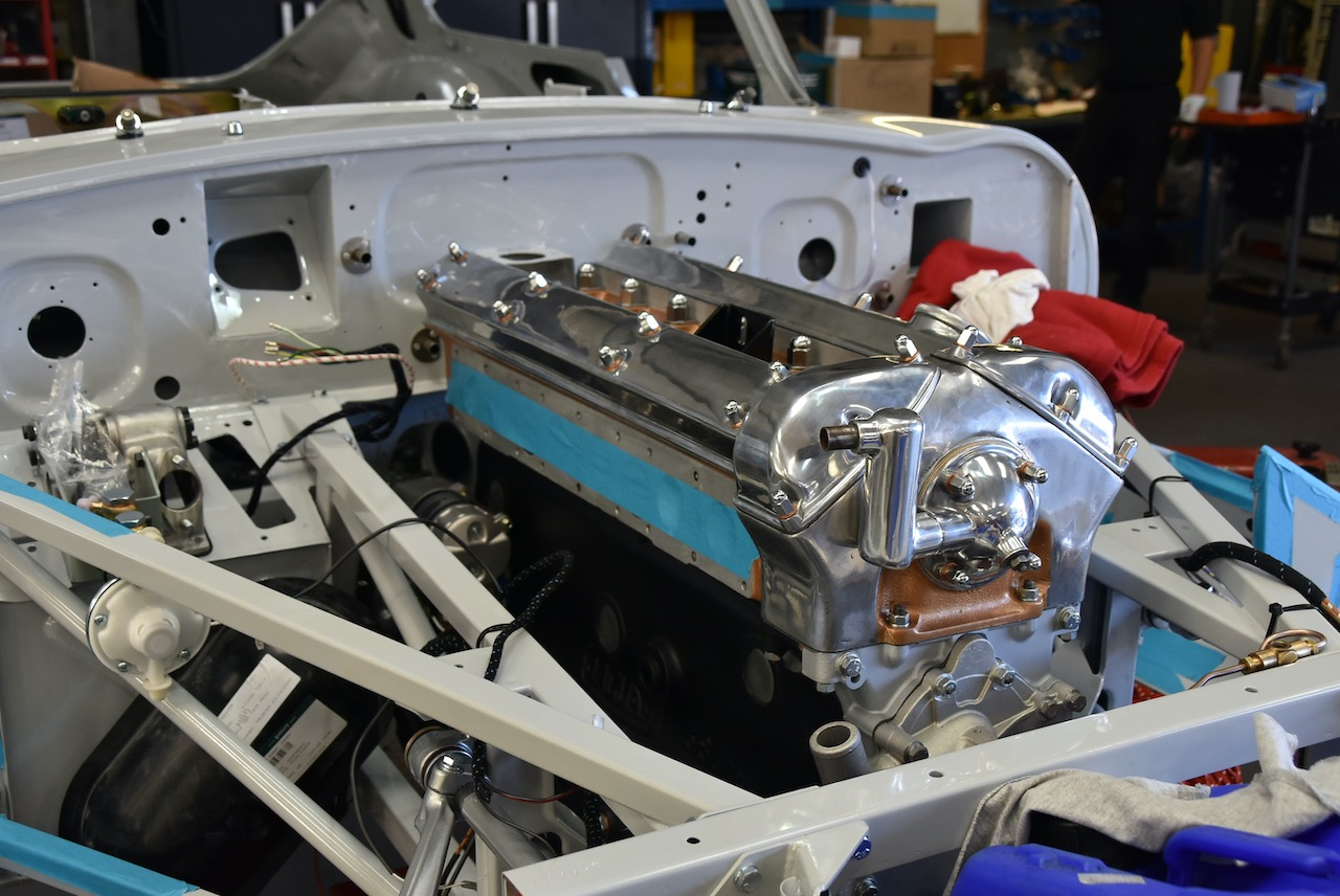 E-Type UK restores E-type Series 1 FHC back to factory spec