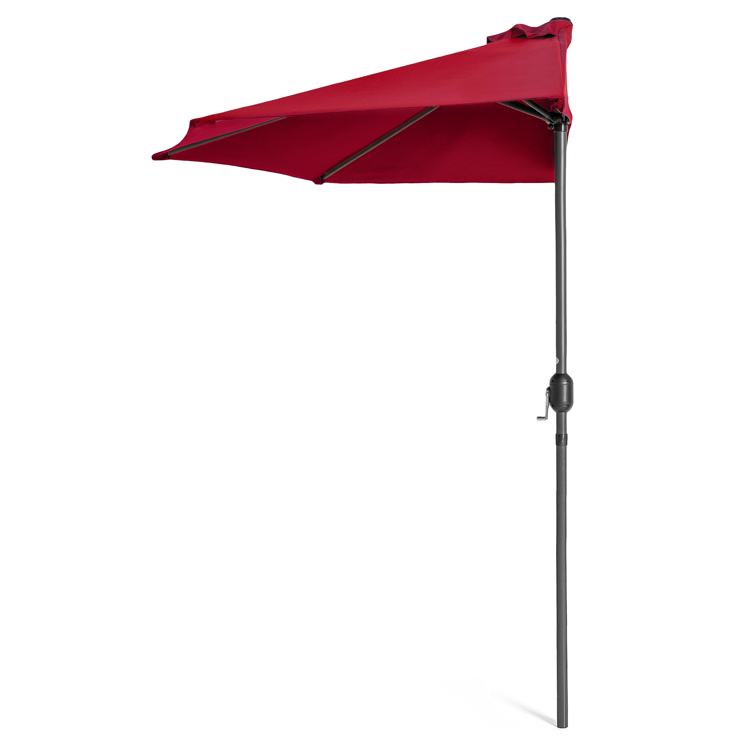 BCP-9ft-Half-Patio-Umbrella-w-Crank-Steel-Frame-UV-amp-Water-Resistant-Fabric thumbnail 26