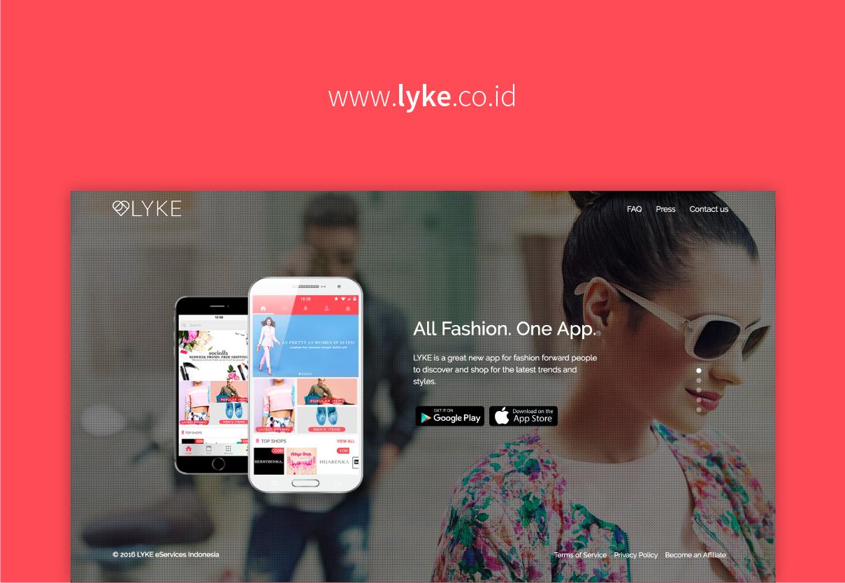 LYKE, Satu Aplikasi untuk Semua Kebutuhan Fashionmu!