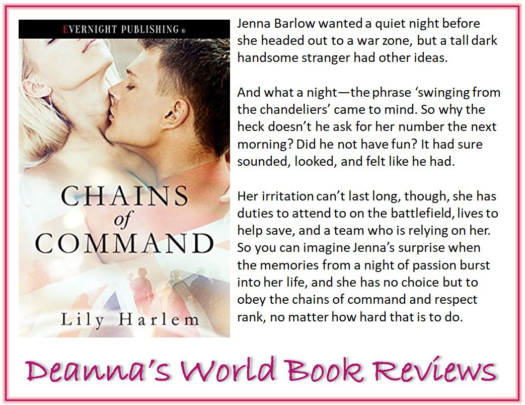 Chains of Command by Lily Harlem blurb