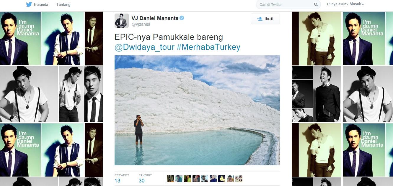 Twitter Daniel Mananta