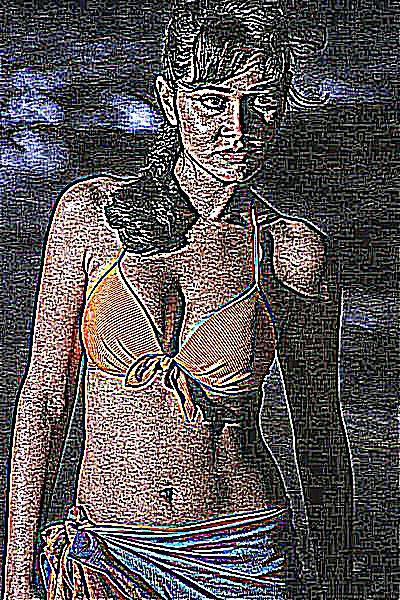 Femme avec un beau cul