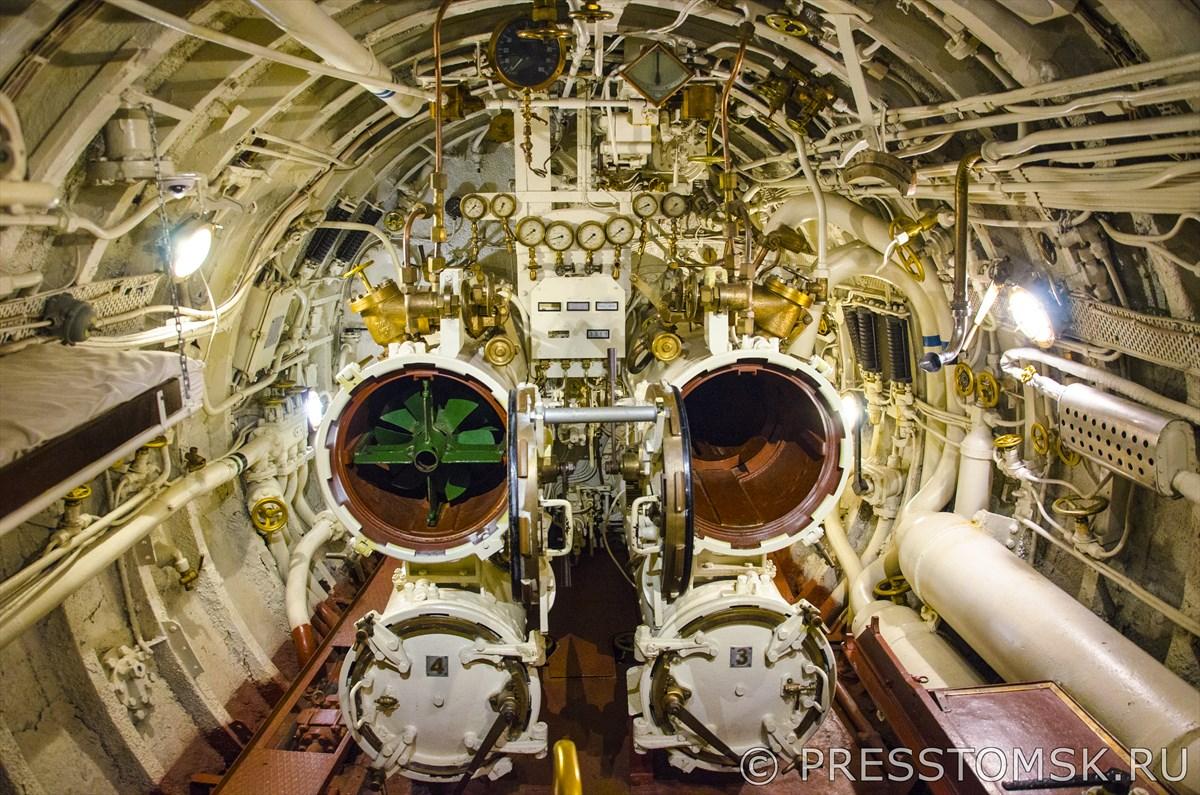 Торпедный отсек Подводной лодки «Лембит»