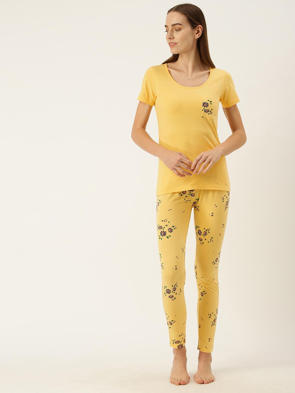 Slumber Jill Sunset gold Pyjama set