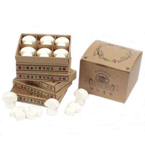 soy wax melts in gift box - white musk