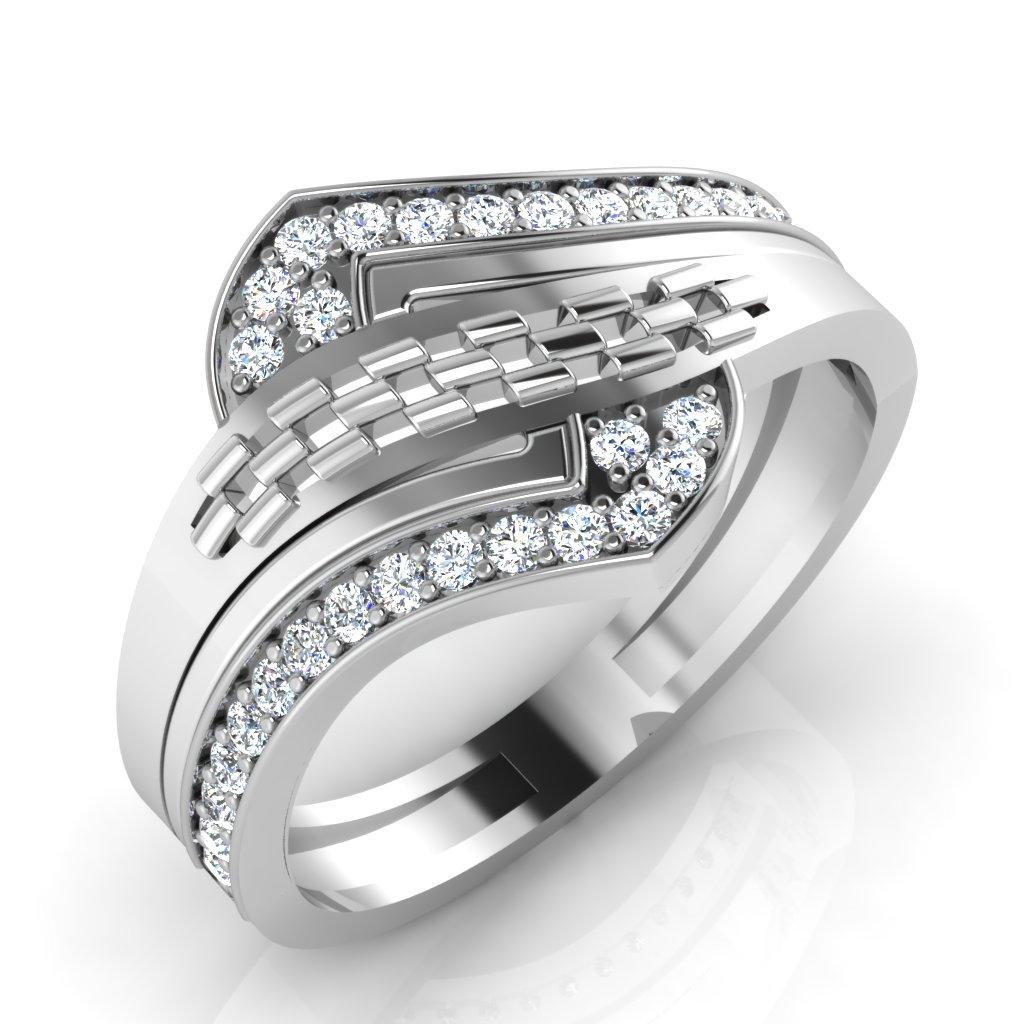 The Earthy Diamond Ring