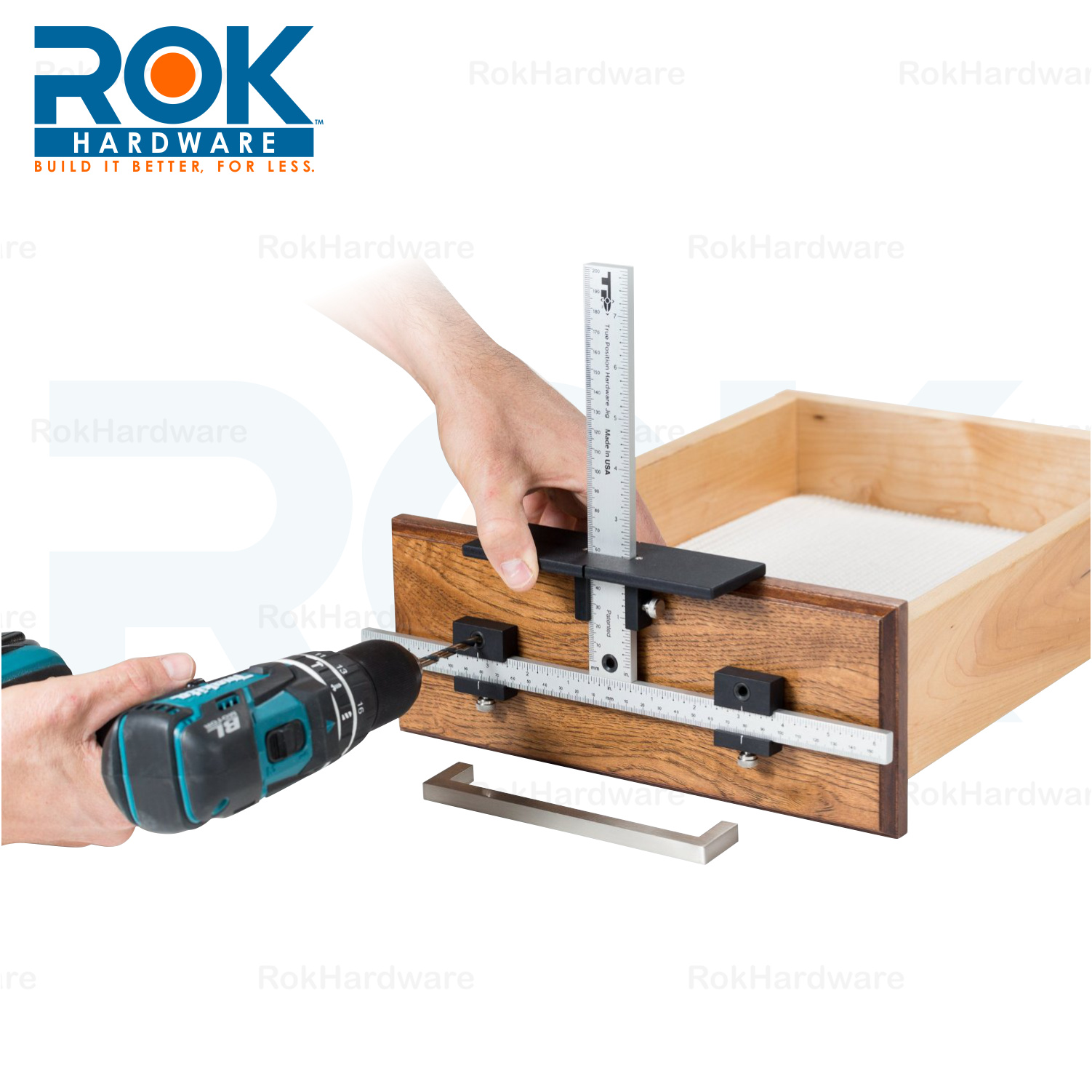 TRUE POSITION TP1934 DRILL GUIDE JIG FOR CABINET HARDWARE ...