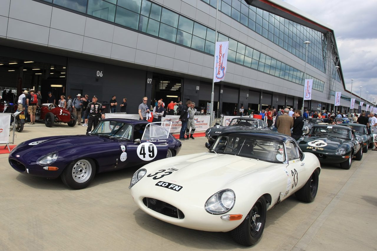 The Classic 2021 at Silverstone to mark E-Type 60th birthday