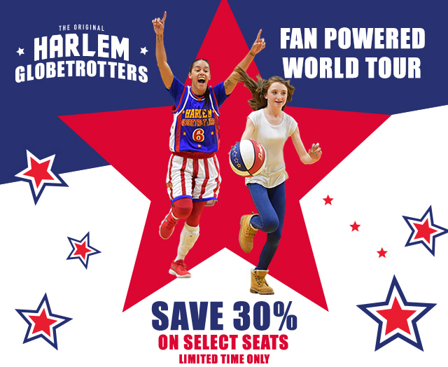 The Original Harlem Globetrotters - Save On Select Seats