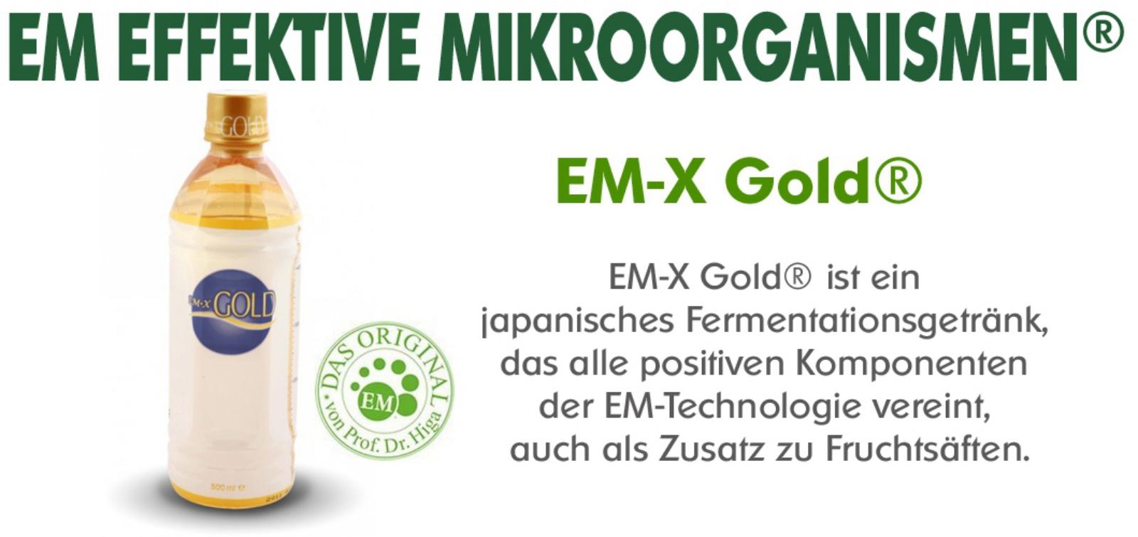 EM-X Gold® Fermentationsgetränk