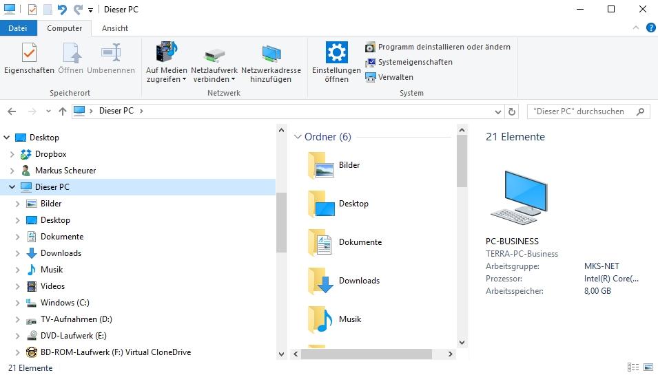 Der Windows Explorer ist seit Jahren Bestand von Windows.