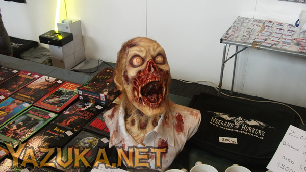 Really cool Zombie head!