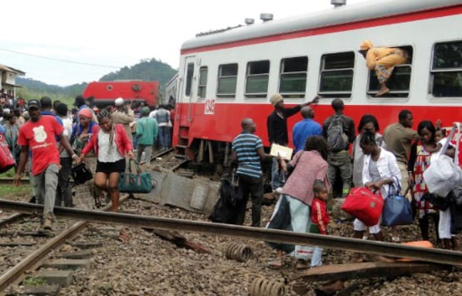 Éséka Cameroun Accident de train au Cameroun
