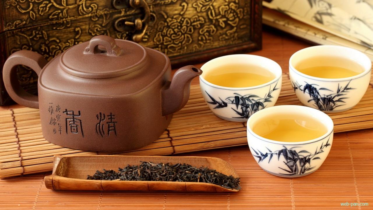 Чайная церемония в восточном стиле!
