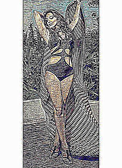 Femme ronde qui baise